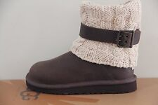 Ugg Australia Kids Cambridge Leather   boots  Size 13 NIB