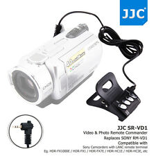 JJC Wired Remote Commander for SONY LANC ACC Socket Handycam Camcorder as R