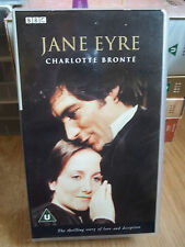 Jane Eyre (VHS, 1990)  BBC DOUBLE BOX SET
