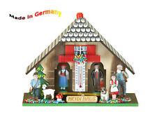Wetterhaus mit Thermometer aus dem Schwarzwald, Heidi Haus, Made in Germany