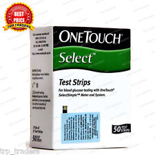 OneTouch Select Simple 50 Test Strips - Diabetes, Gluclose - Jhonson & Jhonson