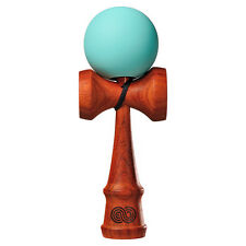Kendama USA Kaizen Padauk Wood Kendama - Silk Paint - Mint