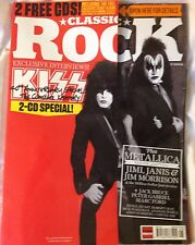 Classic Rock Magazine Kiss Metallica Jim Morrison Peter Gabriel Mark Ford Bruce