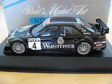 "RARE! MINICHAMPS AMG MERCEDES C CLASS DTM ""WARSTEINER BEER"" A. GRAU ITC 1996"