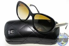 Chanel Sunglasses 5269 622/S9 Black/Gold w/ Brown Gradient Polarized | ITALY |