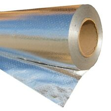 "6""x250' Radiant Barrier Solar Attic Foil Reflective Insulation weatherization"