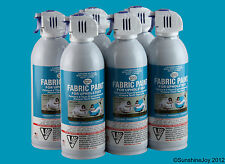 Upholstery Fabric Spray Paint 6 CARIBBEAN BLUE Restorations Simply Spray