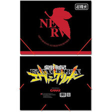 *NEW* EVANGELION NERV LOGO ELASTIC BAND PP DOCUMENT FOLDER