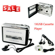Practical USB Cassette Tape to MP3 iPod CD Converter Capture Audio Music Player