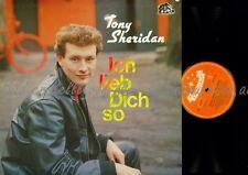 LP--TONY SHERIDAN --ICH LIEB DICH SO--BEAR FAMILY