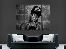WIZ KHALIFA MUSIC RAPPER WALL ART PICTURE POSTER GIANT HUGE