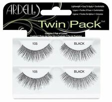 Ardell Twin Pack, 105 Black, (Pack of 1), New