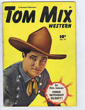 Tom Mix Western #27 Anglo-American Pub 1950 Canadian Edition