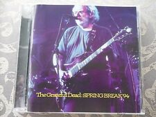 "GRATEFUL DEAD CD ""SPRING BREAK 94""  PRO.MFG. SILVER- MADE IN ITALY-HAWK RECORDS-"