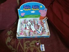 JOBLOT BUNDLE 36  X CHUNKY PEPPA PIG RINGS GOOD QUALITY CHILDRENS PARTY BAGS