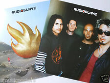 "AUDIOSLAVE ""DEBUT ALBUM"" 2-SIDED U.S. PROMO POSTER - Chris Cornell, Tom Morello"