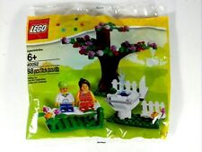 40052 SPRINGTIME SCENE lego legos set NEW sealed poly bag EXCLUSIVE town city