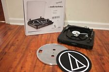 Audio-Technica AT-LP60 Fully Automatic Stereo Turntable Free Ship No Dust cover