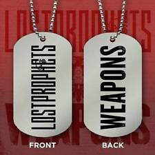 LOST PROPHETS - NECKLACE - DOGTAG - Double-Sided lostprophets - Licensed NEW