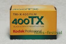 3 rolls KODAK 400Tri-X 35mm 36exp B&W Camera Film 400TX black and white 135