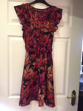 **REDUCED £5 OFF!!* BEAUTIFUL SILK DRESS by WAREHOUSE SZ10 IMMACULATE CON!