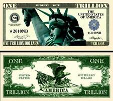 New-Style Liberty Trillion Dollar Novelty Collector Bill Note