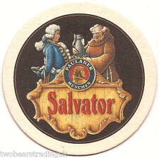 Beer Mat: Paulaner Brewery, Munich, Germany - Salvator Lager