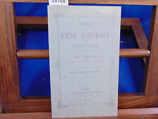 Chevallier Notice sur l'eau minérale de Chatel-Guyon...