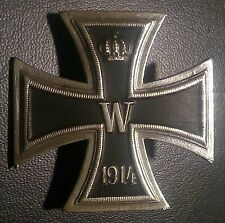 CROIX DE FER ALLEMAND 1-CLASSE DE LA WW1  1914  GERMAN IRON CROSS 1CLASS OF WWI