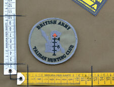 "Ricamata / Embroidered Patch ""British Army Taliban"" with VELCRO® brand hook"
