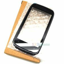 FRAME + TOUCH SCREEN GLASS LENS DIGITIZER FOR NOKIA LUMIA 610 #GS-174