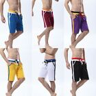 NWT Athletic Teenage Man Men Sport Sexy Shorts Pants Fit Size M L XL 27-35 Inch