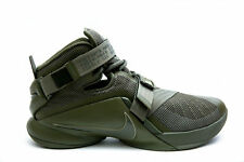 MEN'S NIKE LEBRON SOLDIER IX PRM SHOES SIZE 7.5 olive 749490 223