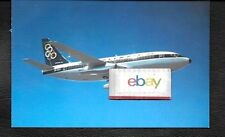 OLYMPIC AIRWAYS GREECE BOEING 737-200 AIRLINE ISSUE POSTCARD