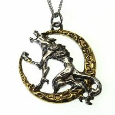Song of the Lycan Moon Wolf Pendant Necklace Children of the Night CN08