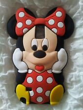 Silicone Cover per cellulari MINNIE RED para SAMSUNG GALAXY NOTE 4