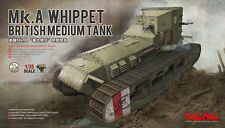 Meng Model TS-021 1/35 British Medium Tank Mk.A Whippet