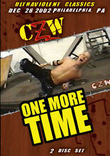 Combat Zone Wrestling: One More Time Double DVD, CZW