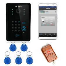 Touch Key WiFi DoorBell Wireless Video Door Phone Alarm System IR RFID