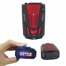 New Car Radar Detector 16 Band Voice Alert Laser V7 LED Display P2