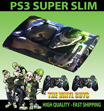 Playstation 3 Super Slim Joker Y Harley Crazy Love Gotham Skin + Pad Skin