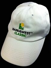BANK OF THE WEST CLASSIC Women's Tennis championship white adjustable cap / hat