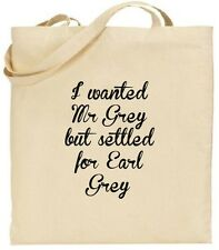 Tote Bag - 50 Shades of Grey - Earl Grey