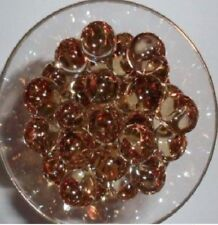 Water Deco Beads (Fall  Brown) Water Store / Release Round Jelly Ball Pearls