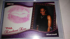 TNA Sharmell 2009 Knockouts GOLD Authentic Kiss Card SN 19 of 75