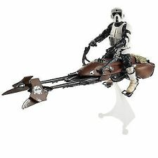 "Star Wars Black Series Scout Trooper with Speeder Bike 6"" Brand New Sealed"