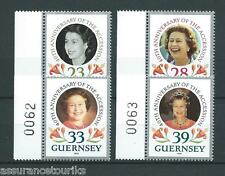GUERNSEY - 1992 YT 556 à 559 - TIMBRES NEUFS** LUXE