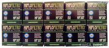 Suzuki RMX450 (2010 to 2013) HifloFiltro Filtre À Huile (HF207) Pack x 10