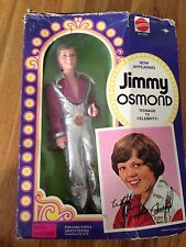 Vintage Mattel Jimmy Osmond Doll 1978 Never Removed from Box