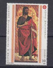 Smom 1990 San Giovanni Battista 341 Mnh
